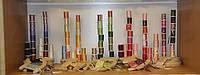 Тончайшая лента из натурального шелка, цвет — любой.  Ширина 4мм., фото 1