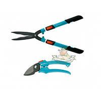 Ножницы для живой изгороди Gardena Comfort 700 T (00394-20) и секатор Classic (08754-20)