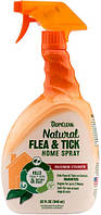 320017 TropiClean Natural Flea & Tick для обработки помещений, 946 мл