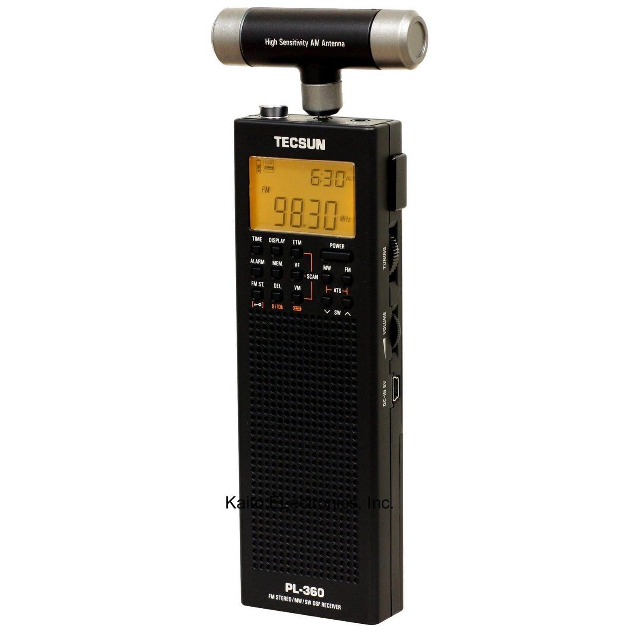 Радіоприймач TECSUN PL-PLL 360