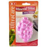 8in1 eCotrition Mineral Treat Juicy Grape мел для средних и мелких попугаев