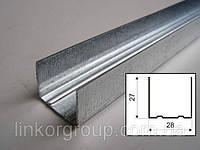 Профиль UD 27, сталь толщиной 0,4мм, длина 3м