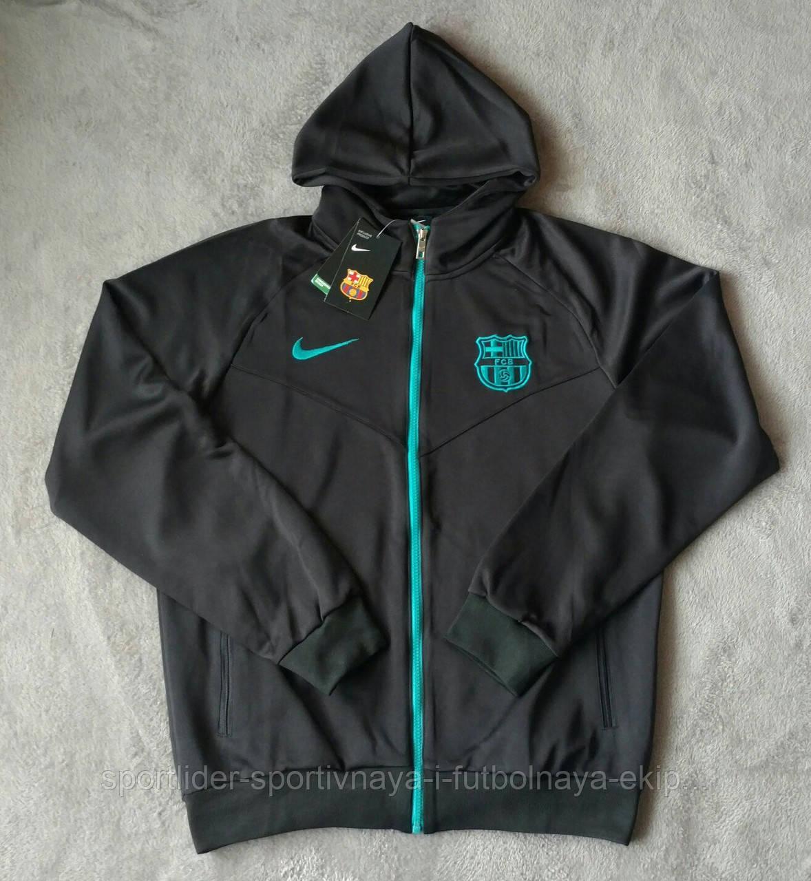 51bc76513f76 Олимпийка мужская с капюшоном Nike FC Barcelona 2016-17 Hoodie -  Спортлидер› спортивная и
