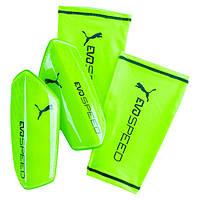 Футбольные щитки Puma evoSpeed 3.5 Neongruen 030622 05