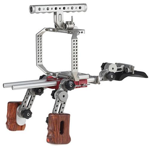 Movcam Camera Cage & Shoulder Support Kit 1W for Blackmagic Cinema Camera (MOV-303-1800-SK1W)