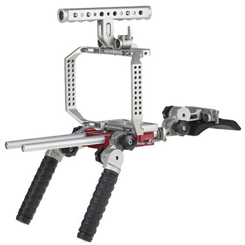 Movcam Camera Cage & Shoulder Support Kit 1 for Blackmagic Cinema Camera (MOV-303-1800-SK1)