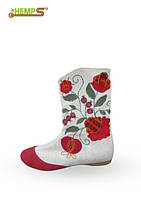 Обувь женская из конопли