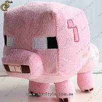 """Свинка из Minecraft - """"Pig"""" - 16 х 12 см., фото 1"""