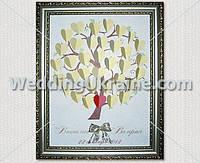 Дерево для пожеланий на свадебном торжестве