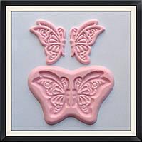 """Вайнер силиконовый """"Бабочка"""", фото 1"""