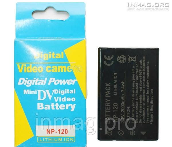 Аккумулятор для фотоаппарата Pentax D-LI7, 2000 mAh.