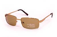 Стеклянные коричневые очки