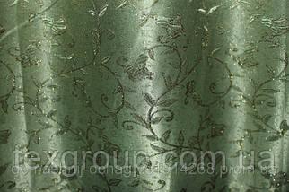 Штора Ландыш зелёная 2,80м, фото 2
