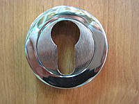 Накладка дверная Doganlar yale хром + сатин