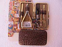 Маникюрный набор Negelon gold (5 предметов)