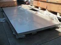 Лист нержавеющий технический AISI 430 2B матовый 0,8х1000х2000 мм