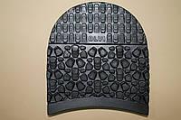 Набойка резиновая для обуви OLVI ЗИМА, цвет - черный