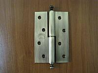 Петля дверная Doganlar 120 мм левая, правая бронза