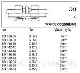 Прямое соединение, CES x CES, 6541, фото 4