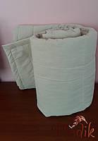 Льняное одеяло 200х220 чехол хлопок