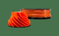 Оранжевый АБС пластик