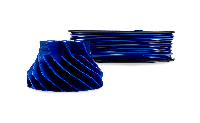 Синий АБС пластик