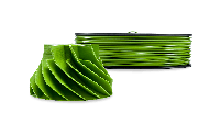 Зеленый АБС пластик