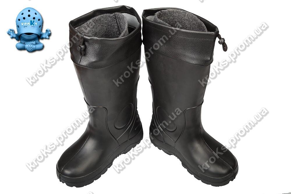48d2b736ec5f Мужские сапоги (Код  EVA-01 черный), цена 200 грн., купить в ...