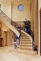 Мраморные лестницы Cappuchino beige