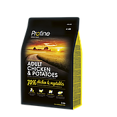 Profine Adult Chicken 3 кг курица и картофель, профайн для взрослых собак
