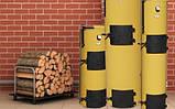 Котел твердотопливный Stropuva S7 (Стропува С7) на дровах , фото 3