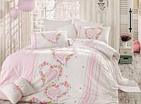 Комплект постельного белья Majoli Bahar teksil Pamela v1 двухспальное