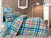 Комплект постельного белья Majoli Bahar teksil Multicolor v1 двухспальное