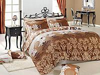Комплект постельного белья Majoli Bahar teksil Bianco v1 двухспальное