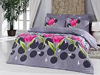 Комплект постельного белья Majoli Bahar teksil Vals v1 двухспальное