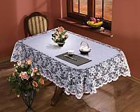 Скатерть жаккардовая  135*180 WALENTY на овальный стол