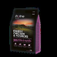 Корм для собак Profine Energy Chicken 15 кг курица, профайн для собак с повышенной нагрузкой