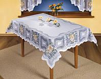 Скатерть жаккардовая 130*180 ALWIN на прямоугольный стол