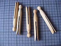 Прищепка деревянная для изготовления кукол