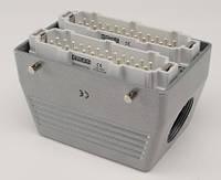 Разъем промышленный 48P+E в кожухе на кабель EBM48FU10