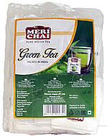 """Чай зелёный индийский """"MeriChai"""" 50пак 100г."""