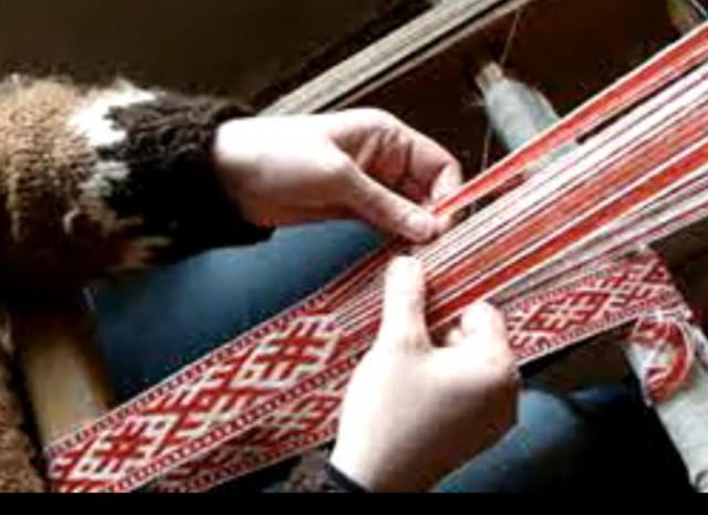 Декоративный шпагат, основа для ткачества