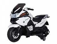 Детский мотоцикл Tilly (T-726 WHITE) со звуковыми эффектами