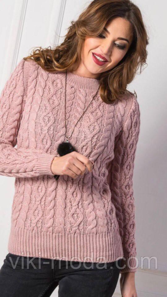Вязаный свитер Люкс, фото 1