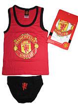 Комплект нижнего белья  для мальчиков Manchester United  размеры 6/8,9/10,11/12 лет, атр 730-894