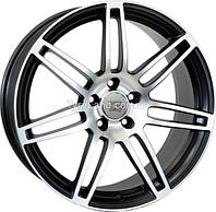 Литые диски WSP Italy W557 S8 Cosma Two 7.5x17/5x112 D66.6 ET30 (Black Polished)