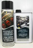 Prisma промывка инжектора+карбюратора