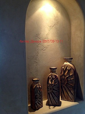 Травертино - декоративная штукатурка под камень 4
