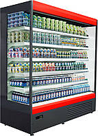 """Пристенная холодильная витрина (регал, горка) """"AURA"""""""