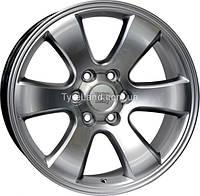Литые диски WSP Italy W1707 Yokohama Prado 9.5x20/6x139.7 D106.1 ET30 (Hyper Silver)